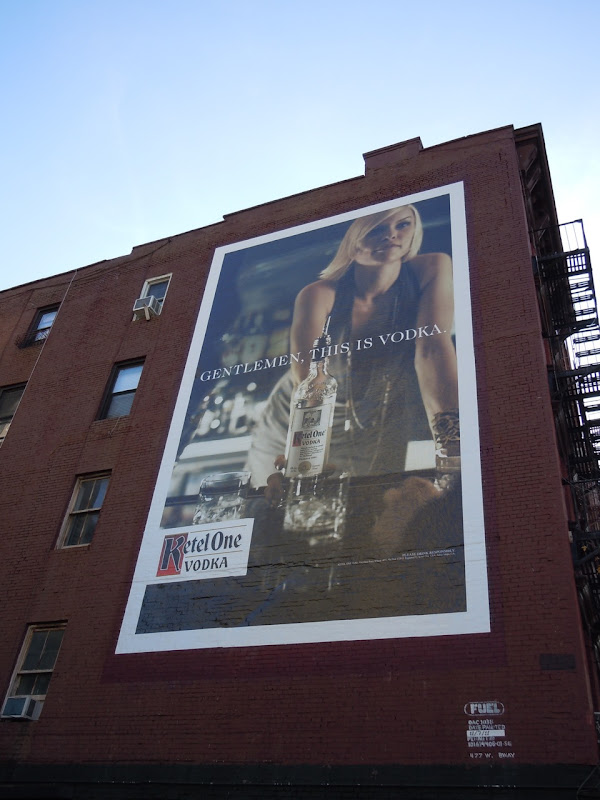 Ketel One Gentlemen this is vodka billboard