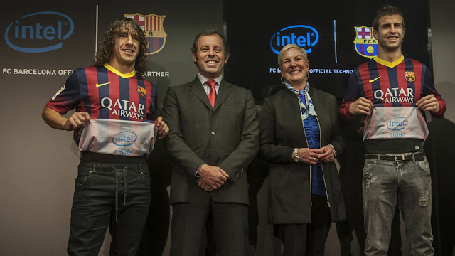 Intel se va del FC Barcelona