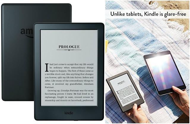 "Amazon: Kindle E-reader - Black, 6"" Glare-Free Touchscreen Display only $50 (reg $80)!"