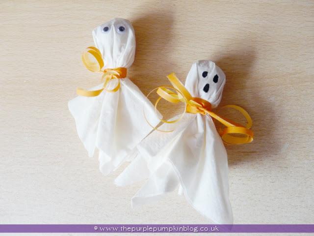 Lollipop Ghosts for Halloween Trick or Treat   The Purple Pumpkin Blog