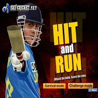 Play Hit and Run Cricket Game