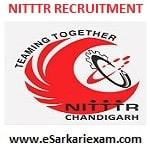 NITTTR Non Teaching Staff Recruitment