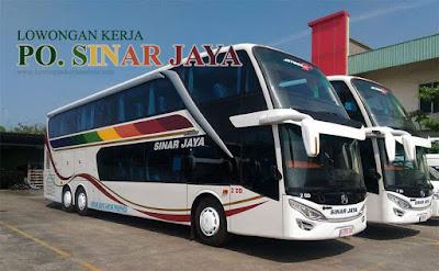 Lowongan Bus PO Sinar Jaya