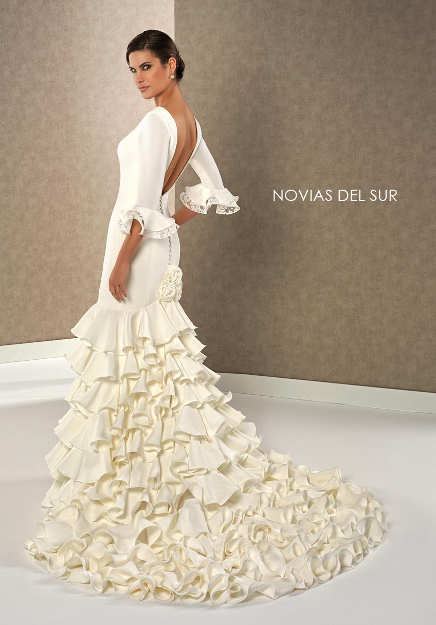 Vestido novia flamenca sevilla