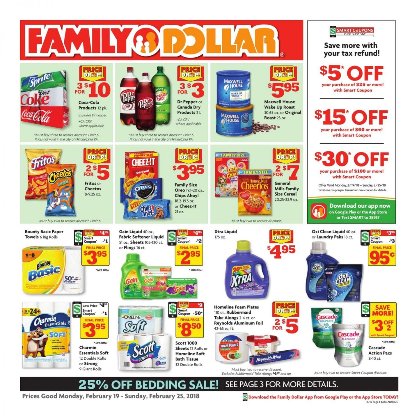 View your Weekly Ad Family Dollar online. Find sales, special offers, coupons and more. Valid from Nov 26 to Dec