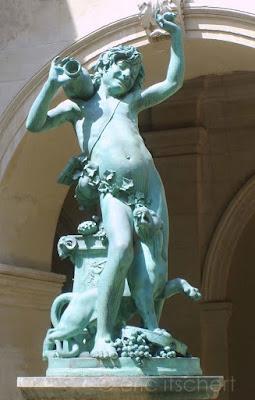 sculpture, faune, faune ivre, Dionysos, Lyon, Musée des Beaux arts de Lyon, Louis-Léon Cugnot,