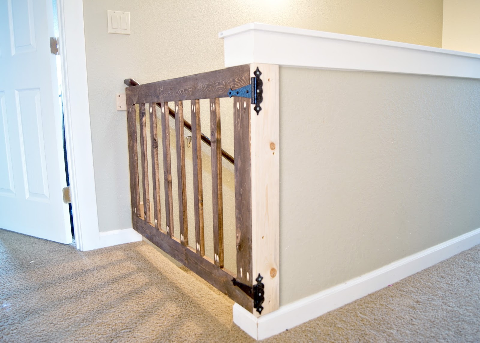 Diy Wood Baby Gate Noreen Hammonds Blog