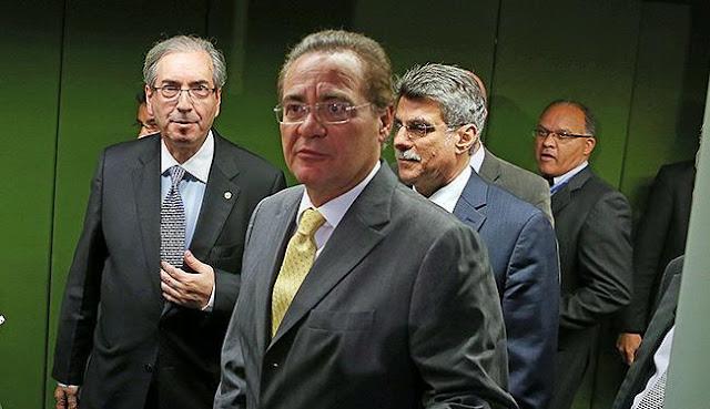 Eduardo Cunha ameaça Renan Calheiros - MichellHilton.com