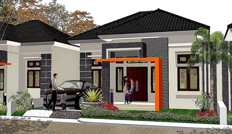 Tampak Depan Rumah Minimalis 1 Lantai | Design Rumah Minimalis