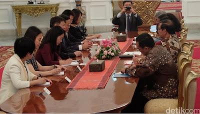 Heboh!! PARTAI KOMUNIS CHINA Masuk Istana dan Membahas Kerjasama dengan Presiden Jokowi