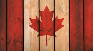 Gambar bendera kanada