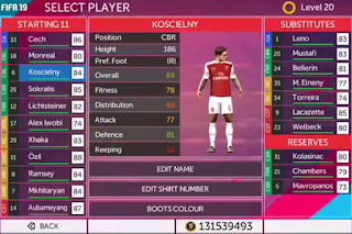 Download FTS Mod FIFA 19 v3 Update Transfer 2018-2019