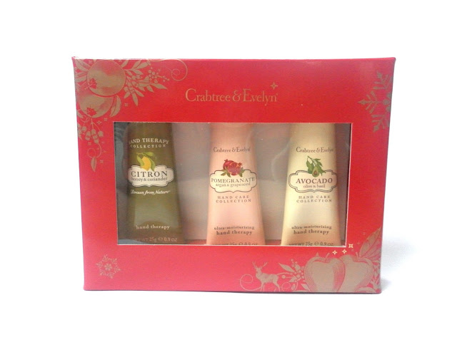 Crabtree & Evelyn Botanical Hand Treats Hand Therapy Sampler
