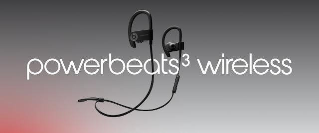Beats giới thiệu tai nghe Bluetooth Powerbeats 3 Wireless trang bị chip W1 của Apple