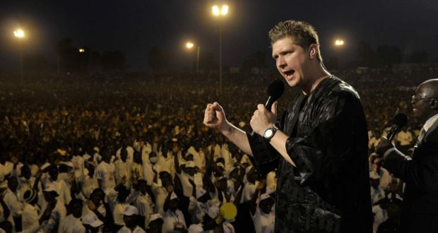Evangelist Kolenda arrives in Tamale for Bonnke Crusade