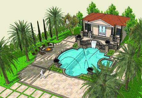 Free Landscape Design Online On Create 3d Landscape Using Online 3d  Landscape Design Services