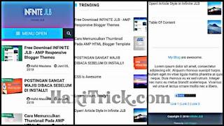 infinite-jlb best free blogger template download