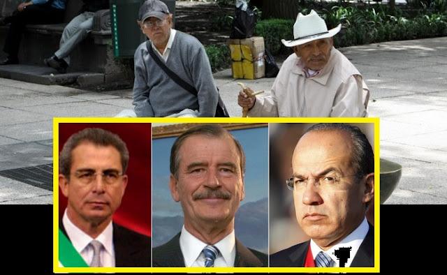 Los expresidentes mexicanos, los mejor pagados; ganan más que Vladimir Putin