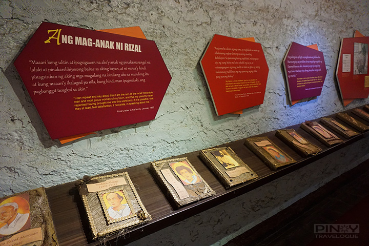 Scrapbooks containing facts about Rizal's parents and ten siblings