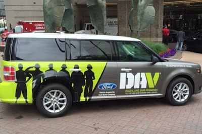 Ford adds 8 Ford Flex utility vehicles to the DAV Transportation Network