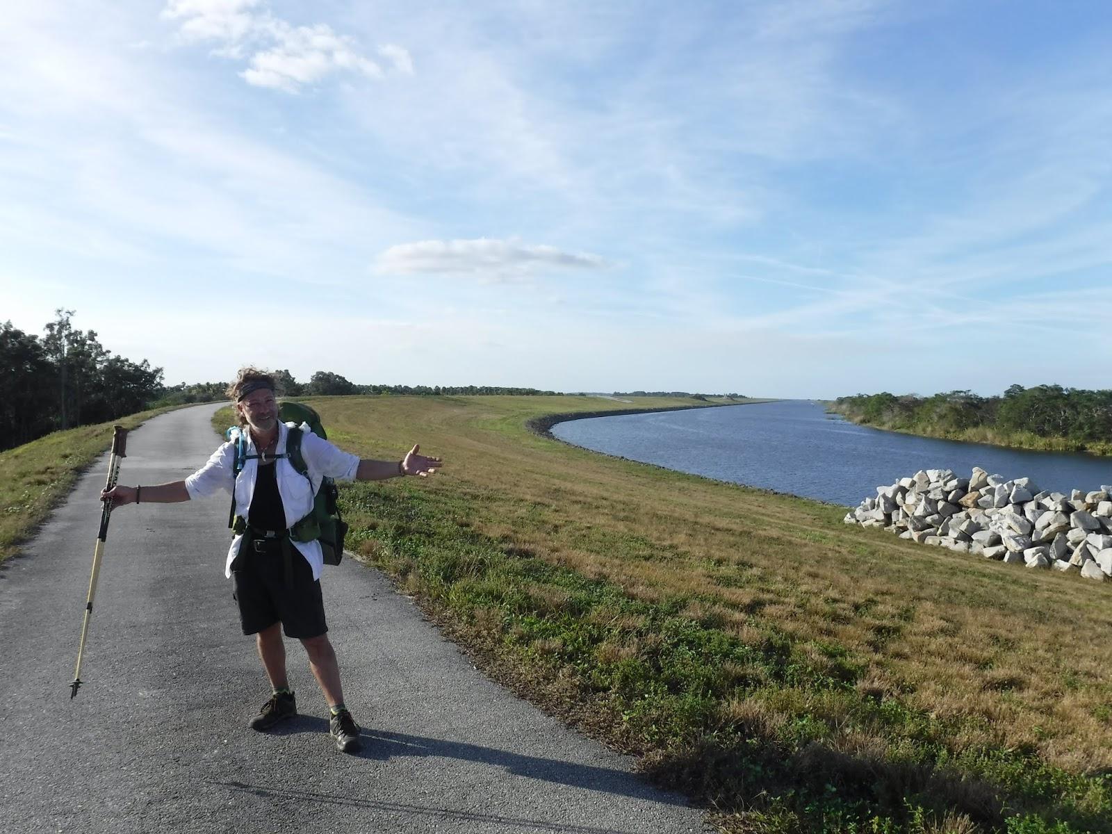 The Botanical Hiker: Lake Okeechobee - Hiking the Big