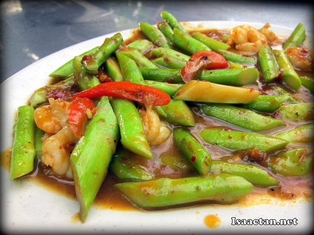 Asparagus with Shrimps - RM12
