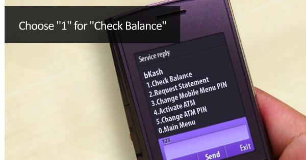 bkash balance Dial*247#