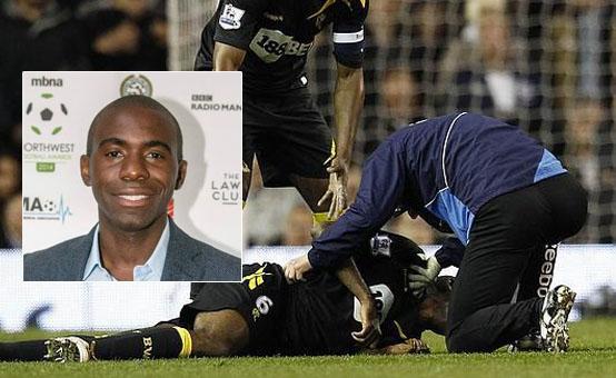 Futbolista Fabrice Muamba sufre ataque cardíaco en pleno partido