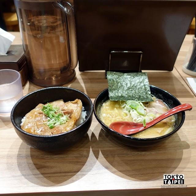 【麵屋開高】來自北海道帶廣十勝的美味 味噌拉麵和超好吃豚丼