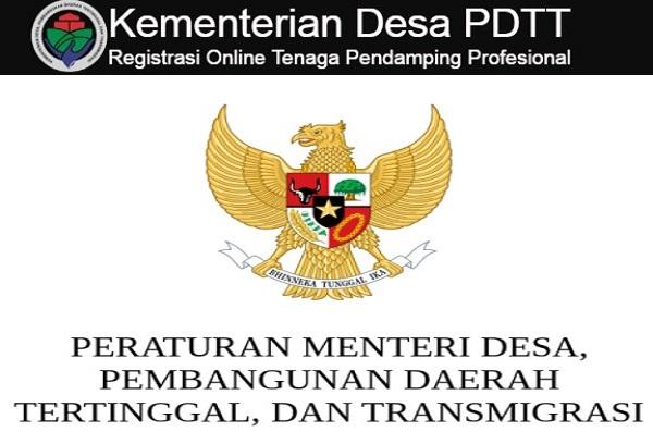 KEMENTERIAN PEMBANGUNAN DAERAH TERTINGGAL (KPDT) : SELEKSI CALON TENAGA AHLI DAN PENDAMPING DESA - ACEH, INDONESIA