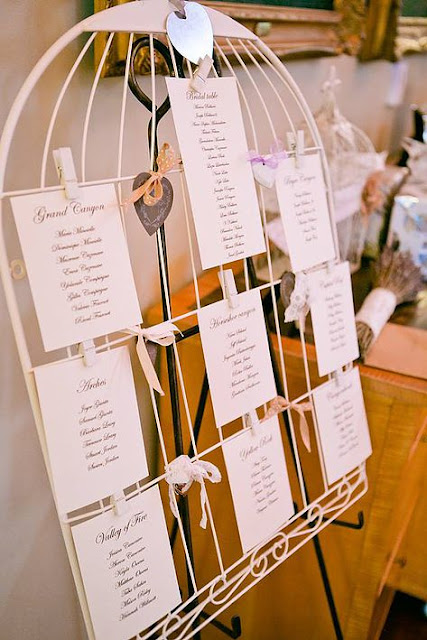 Birdcage Seating Chart
