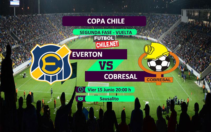 Mira Everton vs Cobresal en vivo y online por el partido vuelta de la segunda fase de la Copa Chile 2018