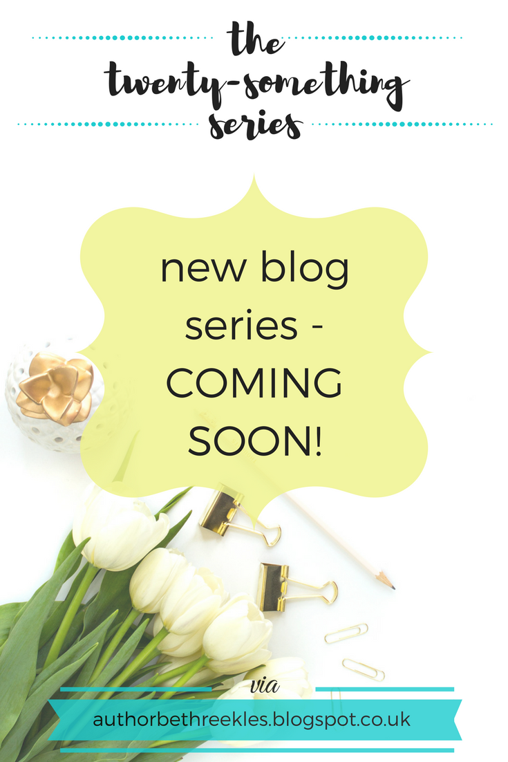 I love a good lifestyle blog, and I love a blog series. So I'm starting a new blog series: the twenty-something series.