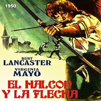El halcón y la flecha - [1950]