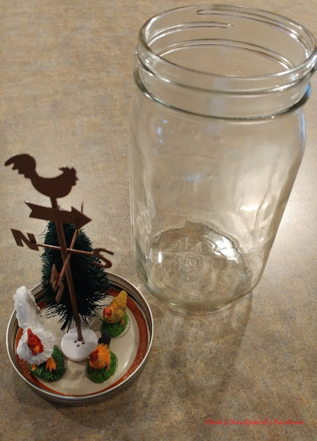 Homemade snow globes are popular these days for good reason. They can be themed in any way you like and you can make them with or without water.
