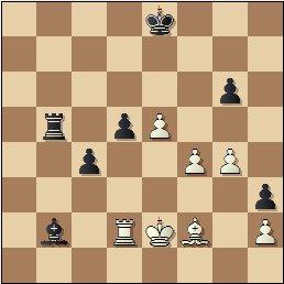 Partida de ajedrez Ribera vs. Palau, posición después de 48...Tb5?!