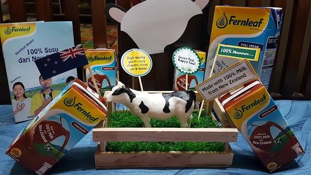 Susu UHT Fernleaf - 100% Mmmmm Dari New Zealand