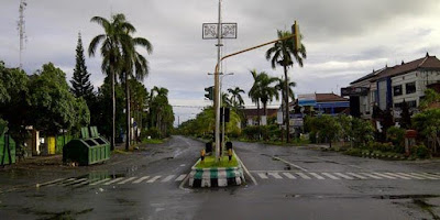 Kota Bali Sepi