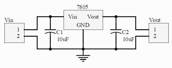 figure 1 block diagram of a dc power adapter