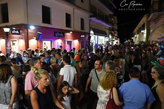 Αποτέλεσμα εικόνας για Πρέβεζα: Και φέτος πλήθος κόσμου στην Λευκή νύχτα !