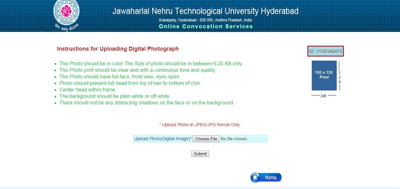 Jntu degree certificate