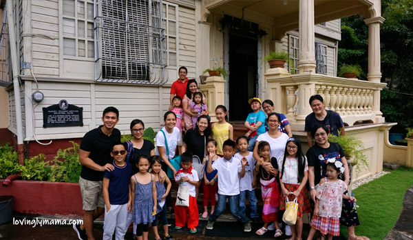 Silay Heritage Tour - Araw ng Wika - Araw ng Lahi - traditional Filipino costumes for kids - mommy blogger - Bacolod mommy blogger - Bacolod homeschoolers network - homeschooling in Bacolod - Hofilena Museum - homeschooling families