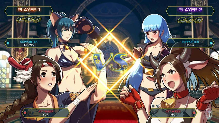 snk heroines tag team frenzy nintendo switch ps4 kula diamond leona heidern mai shiranui yuri sakazaki