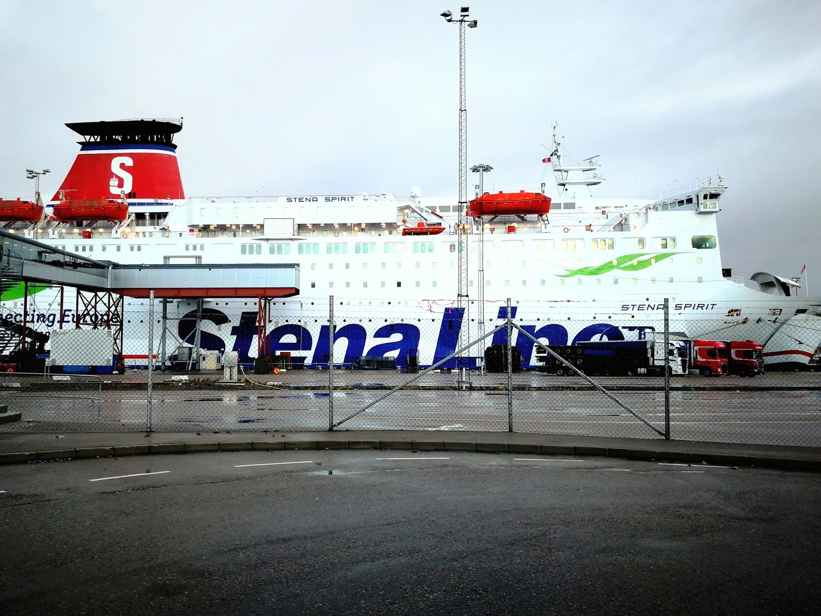 Stena Spirit - rejs do Karlskrony