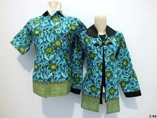 Model Baju Batik Kantor Wanita dan Pria