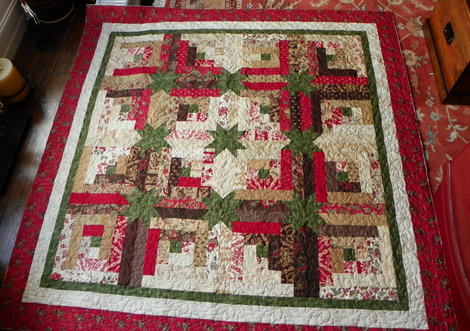 Borderline Quilter Jane S Jelly Star