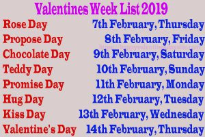 valentine day week list 2019,valentine week list 2019,valentine day week list 2019 in hindi,valentine day list,happy valentines day week list 2019,valentines day list 2019,valentines day 2019,valentine day,happy valentines day 2019,valentine week list 2018,valentine week 2019,valentine week list,valentines week list 2019,valentines day week list status,valentine week,valentine day 2019 weekly list