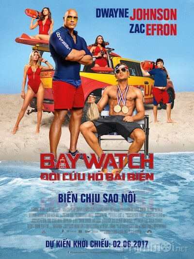 Doi cuu ho bai bien - Baywatch 2017 Vietsub