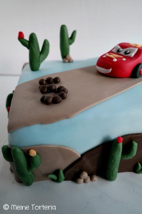 Eine Cars Torte Zum 5 Geburtstag Meine Torteria
