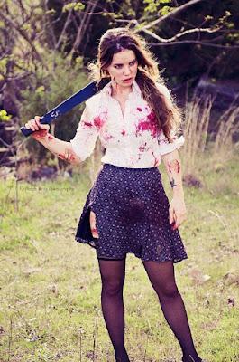 Fantasia The Walking Dead exterminadora de zumbis